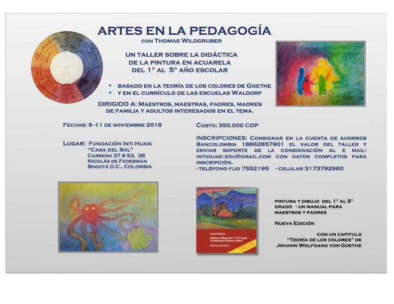 ARTES EN LA PEDAGOGÍA_afiche2